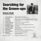 Aearching For The Grown-Ups Back Cover